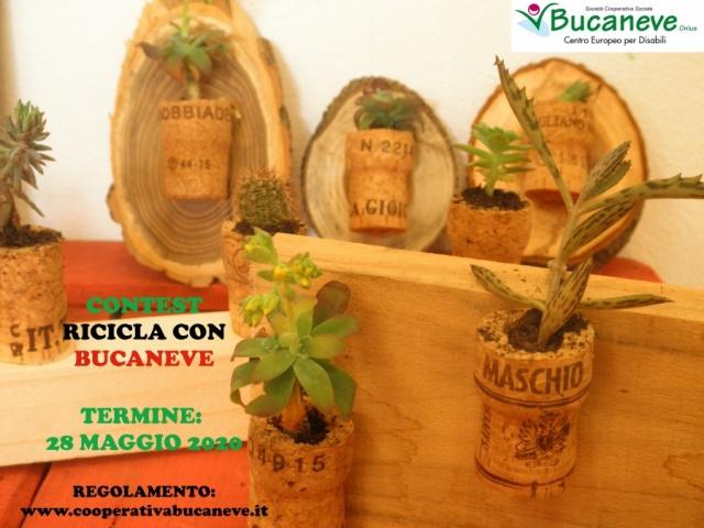 Contest RICICLA CON BUCANEVE!